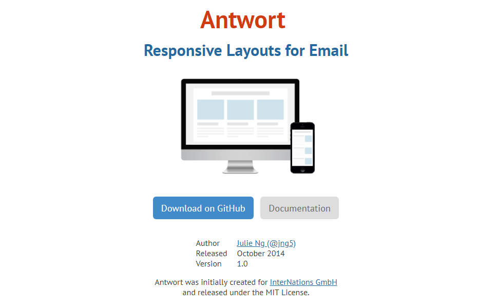 html email templates on Antwort