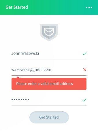 Intégrer facilement la vérification des e-mails Proofy API sur votre site Web.