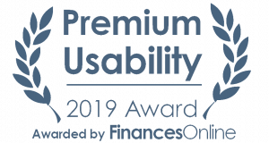 Award premium usability Finance Online 2019 1 300x160